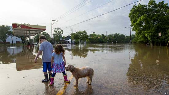 Inundaciones caos Houston