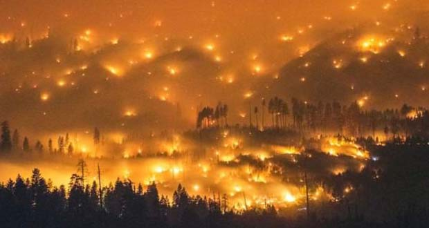 Photo of Incendios forestales afectan cuatro estados en la Costa Oeste de los Estados Unidos