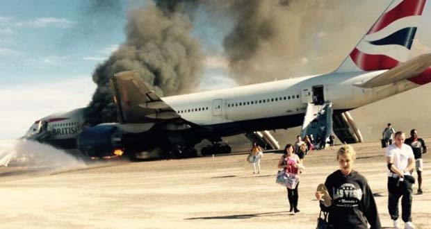 Photo of Un avión de British Airways se incendia en Las Vegas con 172 pasajeros a bordo