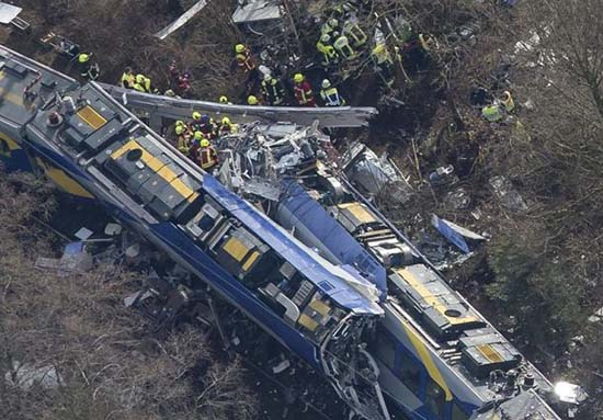 Accidente de tren Alemania