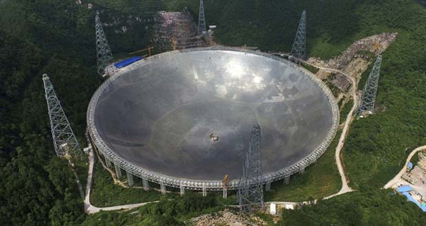 Photo of China buscará vida extraterrestre con un telescopio gigante