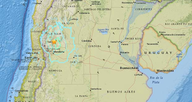Photo of Terremoto de 6.5 grados sacude Argentina y Chile