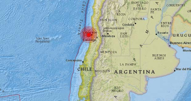 Photo of Un fuerte sismo de magnitud 6,1 sacude Chile