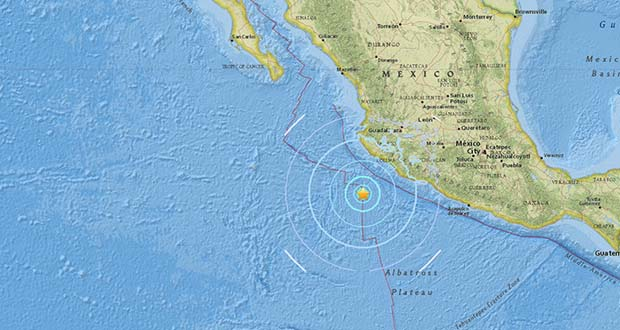 Photo of Un terremoto de magnitud 5,8 sacude la costa de México