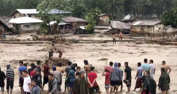 Photo of Una tormenta tropical causa más de 180 muertos en Filipinas