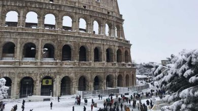 Photo of Roma, paralizada por la peor nevada en seis años