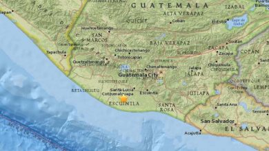 Photo of Un terremoto de magnitud 5 sacude Guatemala
