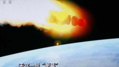 Photo of La estación china Tiangong 1 cae en el Pacífico sur
