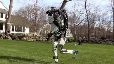 robot humanoide boston dynamics 390x220 - Así corre Atlas, el inquietante robot humanoide de Boston Dynamics