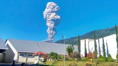 Photo of Volcán indonesio Merapi expulsa columna de ceniza hasta 5.500 metros altura
