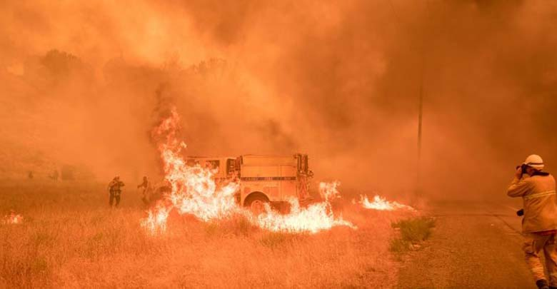 incendio forestal california - Un incendio forestal en California arrasa 18.000 hectáreas en dos días