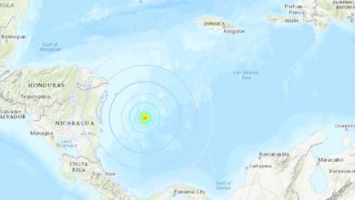 sismo mar caribe 390x220 - Un sismo de magnitud 6,1 sacude el Mar Caribe Occidental