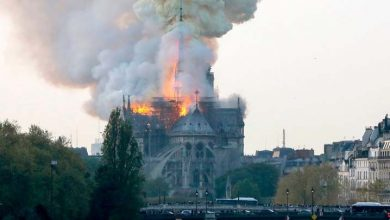Photo of Un grave incendio devora la catedral de Notre Dame de París