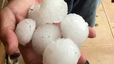 Photo of Llueven 'pelotas' de granizo en Alemania