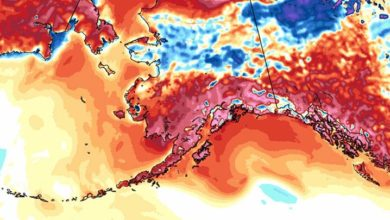 Photo of Una ola de calor amenaza con superar los récords de temperatura máxima en Alaska