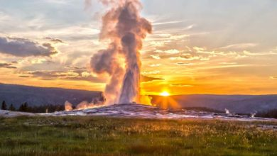 Photo of El manto bajo el supervolcán de Yellowstone se extiende hasta California y Oregón