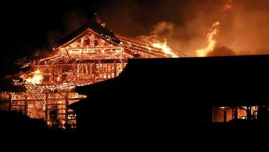Photo of Un incendio destruye el legendario castillo Shuri en Japón